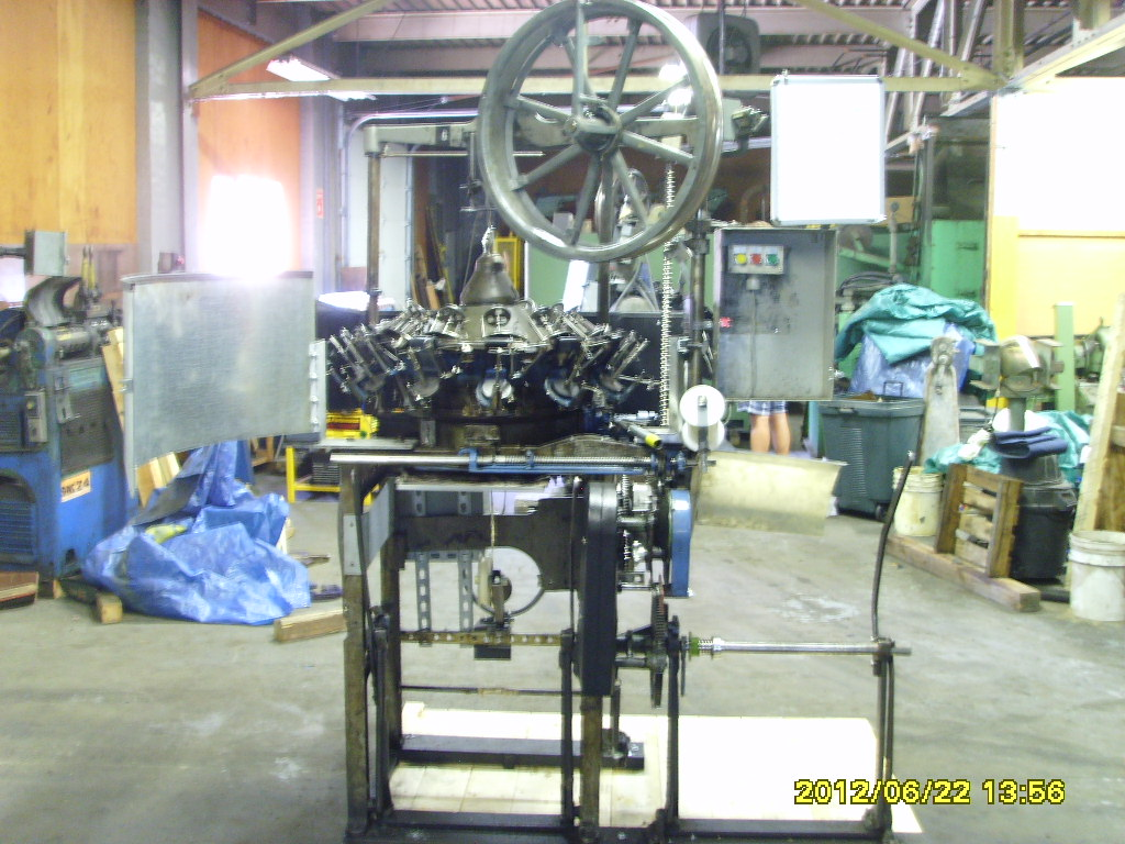 Wardwell 24 carrier Braiding Machine