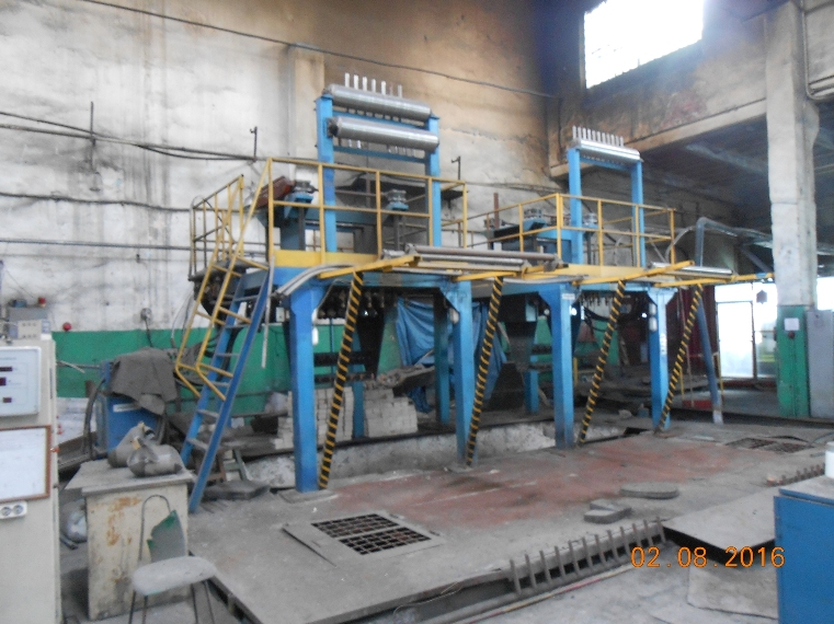 Copper Upcasting Line