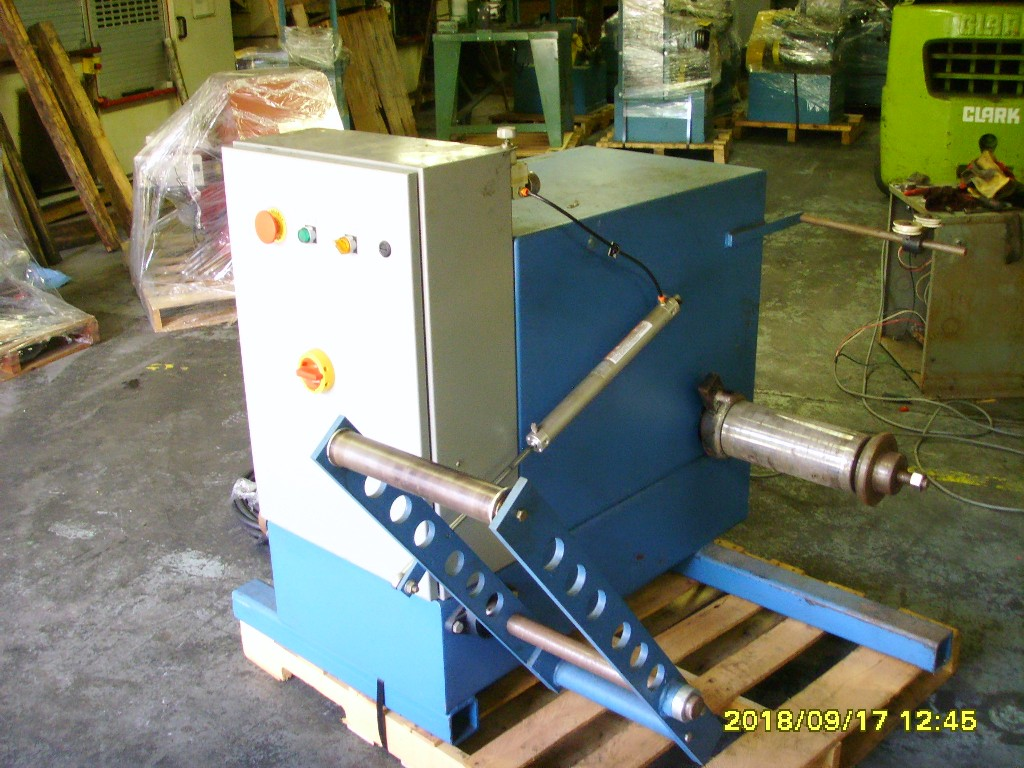 Shaft type pay-off 24 inch motorized