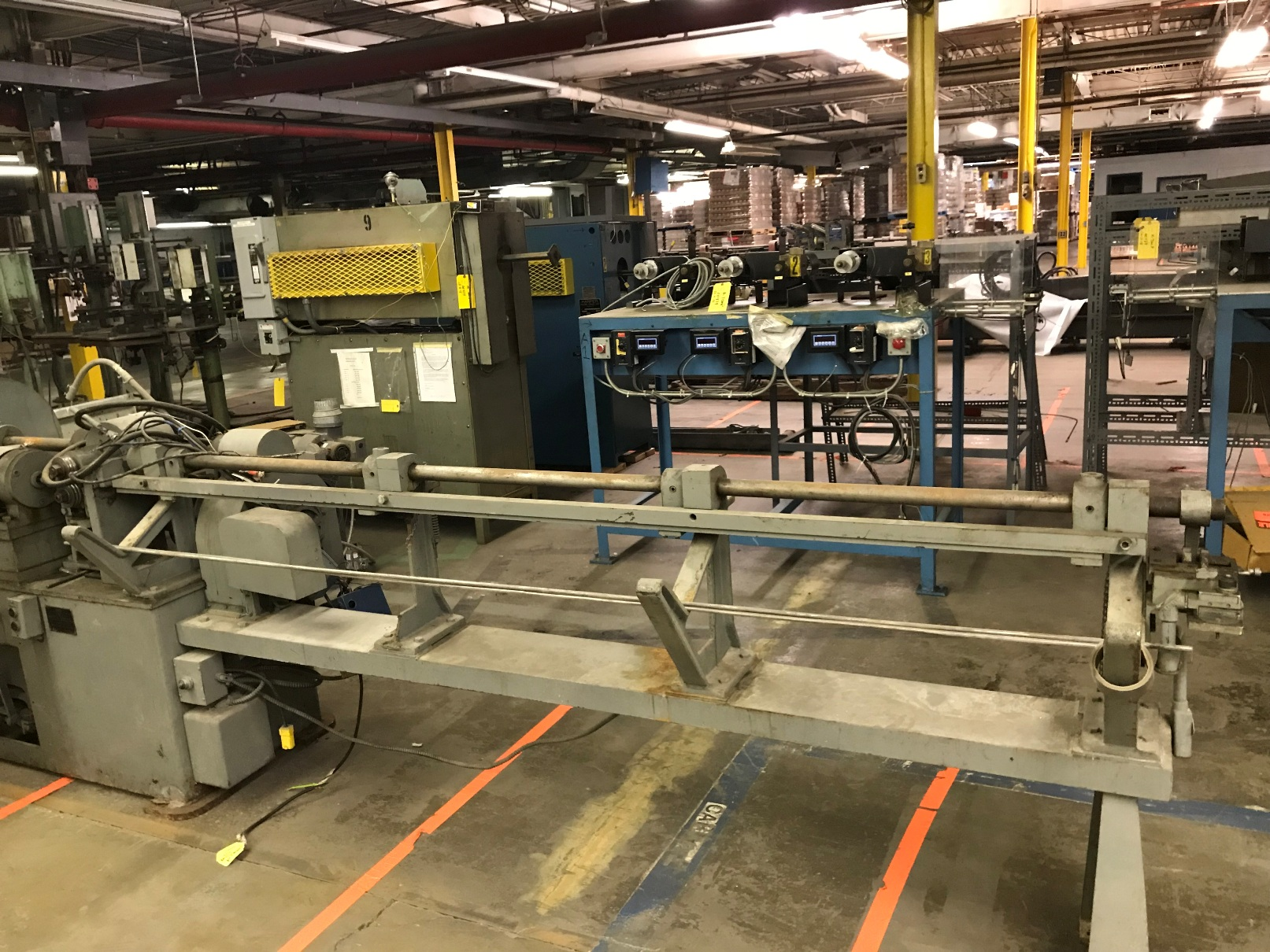 Shuster 2A wire straighten and cut