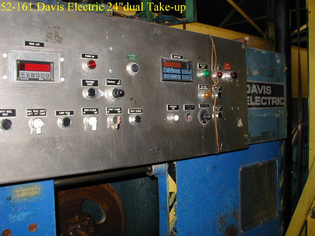 Davis Electric 24inch dual Take-up