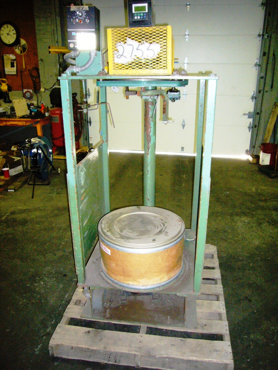 BHS Single head pail pak (Drum Packer) 14inch dia. drop capstans (6 avail.)